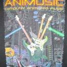Animusic Computer Animated Music T shirt Adult Medium