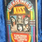 Headliners KISS Extremely RARE Book by John Swenson 1979 IN MAKE UP! Shock Rock !