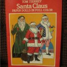 Santa Claus  St. Nicholas Christmas Paper Doll /Dolls In Full Color -Tom Tierney