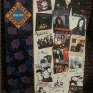 Top Hits 90-91 Piano/Vocal/Guitar Book  LA GUNS Prince Billy Idol Bon Jovi Heart ..more