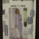 Simplicity sewing pattern 8522 Misses top skirt pants 16,18,20
