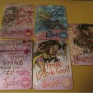5 BRATZ Magic Motion Cards 2003 Lenticular trading cards