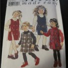 Childrens Pinafores  Sewing Pattern Size 3-8 Style Made Easy