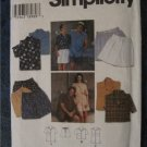 Simplicity Shirt and Shorts pattern for Men Woman & Teens Size XS S M