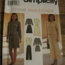 Simplicity Dress Essentials 6,8,10  Misses Top Skirt Pants & Shorts Pattern