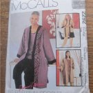 McCall's 2292 Long Jacket,Top,Pants Pattern Ex-Large 20,22