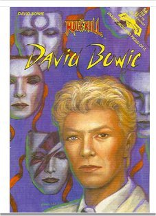 David Bowie Rock n' Roll Comic Book -Revolutionary Comics 1st printing 1993 FREE SHIPPING