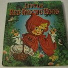Vintage Little Red Riding Hood (Whitman) Hardcover Sweet Illustrations
