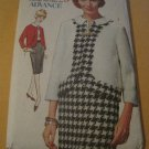 Vintage 60's Advance Sewing Pattern 3096 Sew Easy Misses Separates Size 14