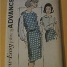 Vintage Advance Sewing Pattern 2781 Separates Top & Skirt Junior size 13