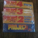 PROJECT A-KO US MANGA Japanse Animation (English)4 VHS Videos SEALED NEW