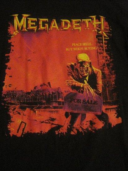 Vintage Megadeth Peace Sells Size Large Shirt Hard To Find