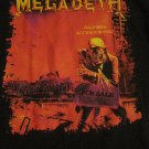 Vintage Megadeth Peace Sells Size LARGE Shirt (Hard to Find)