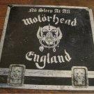 "Motorhead-No Sleep at All 12"" Vinyl Record GWR -Heavy METAL"