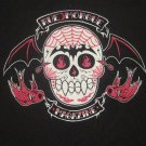 Vintage Rue Morgue Magazine Horror Goth Womans Shirt/Top Size Medium