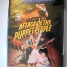 BRAND NEW SEALED ATTACK OF THE PUPPET PEOPLE DVD