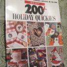 Our Best 200+ Holiday Quickies (Leisure Arts Best)Cross Stitching Book ..Christmas + Ideas!!