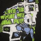 Cute Is What We Aim For Television Band  T-Shirt HOT TOPIC Junior Girls Size Large