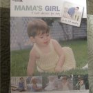 Mama's Girl 5 knit Dresses for Baby By Larisa Scott Leisure Arts Knitting Leaflet