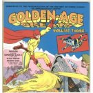 Golden-Age volume 3 Text by Bill Black -Comic paperback book  RARE
