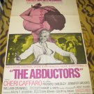 The Abductors Original Movie Poster Vintage 1972 Cheri Caffaro (Bondage)