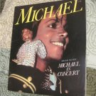 80's Vintage Michael Jackson in Concert Program Book 1984  FREE SHIPPING