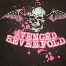 Avenged Sevenfold Ladies fitted Rock band shirt Size Medium FREE SHIPPING