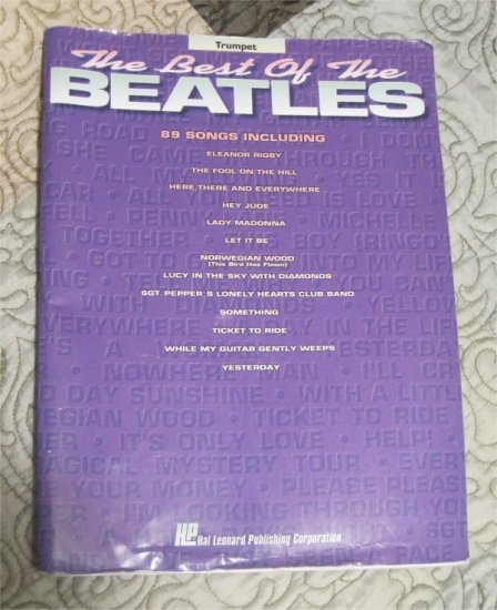 The Best of the Beatles: Trumpet [Sheet music] Book (Used)
