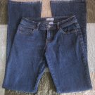 SO wear it, declare it Size 3 Long  Dark Blue jeans Flare