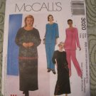 McCall's Pattern 3020 Women's/Women's petite Top,Pull On pants & Skirt 18W-32