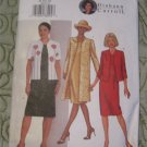 Butterick pattern 3079 Misses/ Petite Long Jacket  & Dress 8,10,12 Diahann Carroll