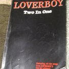 Loverboy -Two in One Music Book / Guitar chords  RARE 80s