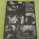 Neil Young Complete Music (Vol.1 , 1966-1969) [Sheet music] Music Book