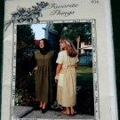 Favorite Things 036 Sewing Pattern  Sz 6 8 10 12 14 16 Misses Dress or Jumper UNCUT