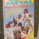Thrash Metal Creem Magazine (Slayer,C.O.C,7 Seconds,Exploited,Metallica..More)