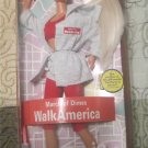 Walk America March of Dimes Barbie doll NRFB  FREE SHIPPING