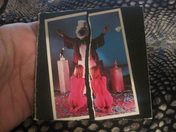 "The Residents -Double Shot 3"" Cd Single RARE!! 1988 Ryko"