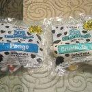 101 Dalmations Cruella De Vil -Pongo Sealed New Toys (Happy Meal,Mc Donalds)Walt Disney