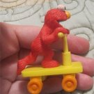 "SESAME Street ELMO on scooter 2.5"" PVC Figure toy"
