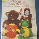 Crotchet Toys and Dolls complete Instructions for 12 easy projects -Susan Verkest ( craft book )