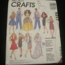 McCalls 6317 Barbie clothes Fashion Wardrobe Clothing pattern (Make Barbie Clothes!)