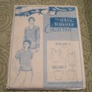 The Sewing Shop Collection Tuscany T (over sized) /Milano T (shaped semi fitted) Shirt Pattern