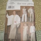 Vogue V7884 Five Easy Pieces Pattern Jacket, Top, Dress, Skirt and PantsSize 8,10,12