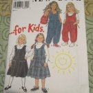 Sewing pattern New Look # 6331 Size 3 to 8 Girls Jumper, Jumpsuit