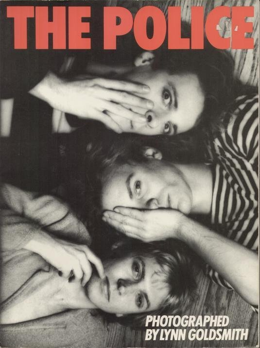 The Police by Lynn Goldsmith 1983 80's Band - STING (Photo Book) Softcover