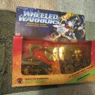 Wheeled Warriors  Saw Boss Sealed Vintage  w/Comic  Mattel 1984 RARE Vintage 80s toy