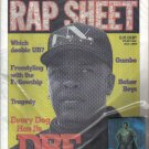 RAP SHEET July 1993 Dr. DRE + Meteor Man #1 Comic & Pin