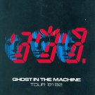 Official THE POLICE 1981 GHOST IN MACHINE Concert Tour Program -TourBook