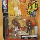 1998 Mattel NBA Jams One-On-One Action 2-Figure Pack - Michael Jordan/David Robinson SEALED