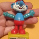 "Vintage 1980's Smurf Puppet Helm  ""Papa Smurf"" Toy (TV Cartoon)"